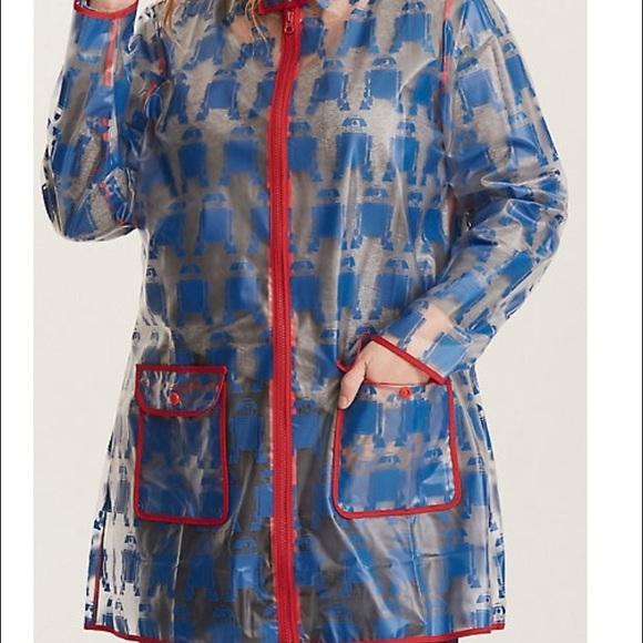 torrid Jackets & Coats | R2d2 Print Plus Size Raincoats | Poshmark